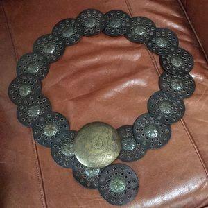 Cool brass buckle belt